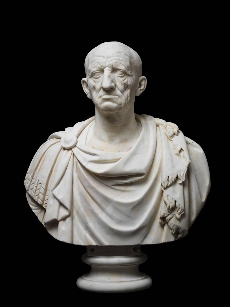 Vecchio da Otricoli su busto moderna