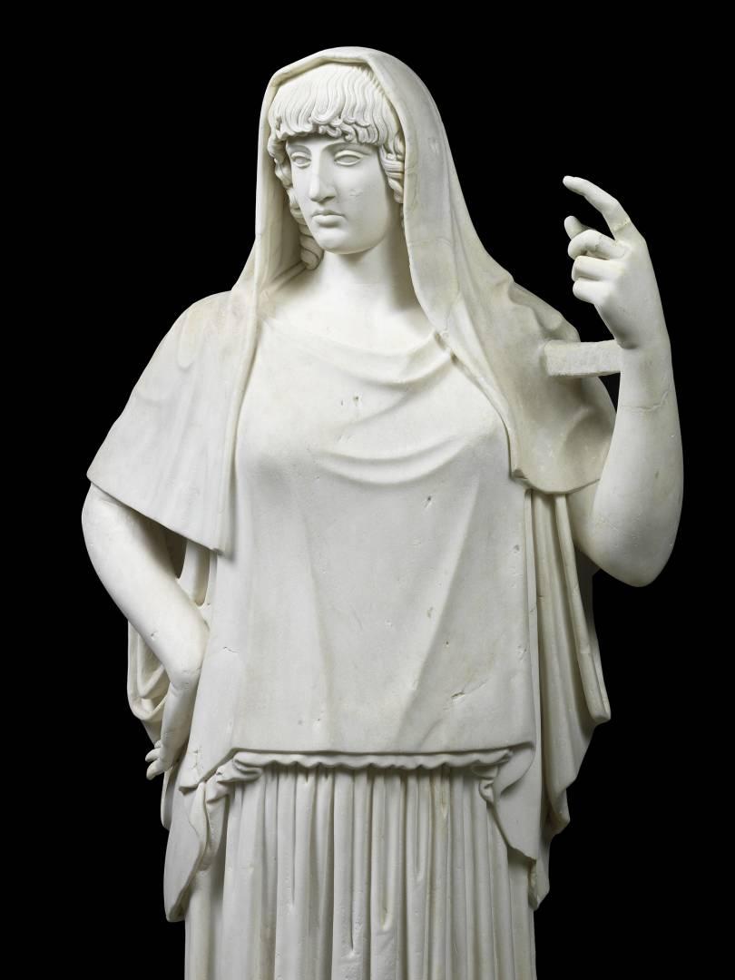 Statua di divinità, c.d. Hestia Giustiniani